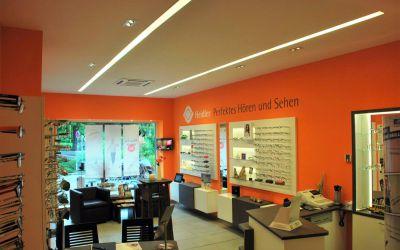 Optiker-Laden ausgebaut
