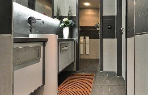 Gäste-WC in der Badausstellung Maßalsky